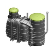 BIOROCK MONOBLOCK-2-800 Sewage Treatment Plant Gravity Outlet - 5 Person