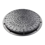 Drain Inspection Chamber Manhole Cover and Frame (Driveway) 450mm 50kN