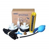 Camstopper Drain & Sewer Pipe Air Test Kit 4inch 100mm