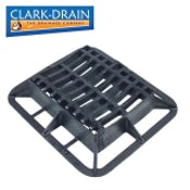 Clark Drain C250 Class Cast Iron Hinged Dished Channel Gully Grate 390 x 315 x 100mm