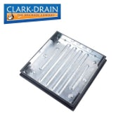 Clark Drain 10 Tonne GPW Recessed Manhole Cover and Frame 600 x 600 x 80mm