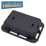 Clark Drain Grade A Cast Iron Solid Top Surface Box - 380 x 230 x 100mm