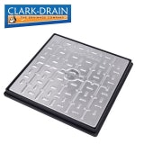 Clark Drain 10 Tonne GPW Steel Lidded Manhole Cover and Frame 450 x 450 x 30mm