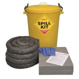 Fentex General Purpose Spill Kit - 90 Litre Yellow Drum
