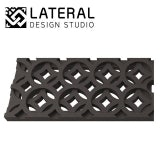 Aquascape 125mm Interlaken Cast Iron Drain Grate 498mm - Pack of 2