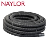 Naylor MetroCoil Singlewall Ducting Black 105mm x 40m
