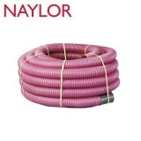 Naylor MetroCoil Singlewall Ducting Purple 35mm x 25m