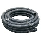 Perforated Land Drain Coil Pipe 80mm x 25m