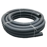 Perforated Land Drainage Coil Pipe 100mm x 100m