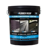 Black Rubber Roof Liquid Flexible Waterproof Coating - 5ltrs