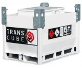 Transcube Contract (245L) Bunded Steel IBC Fuel Tank (White)