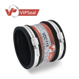 VIPSeal Rubber Flexible Drain Coupling 100-115mm