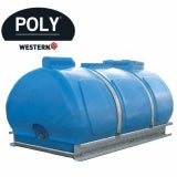 Water Storage Tank Bowser 2000L with Lid and Strap Only