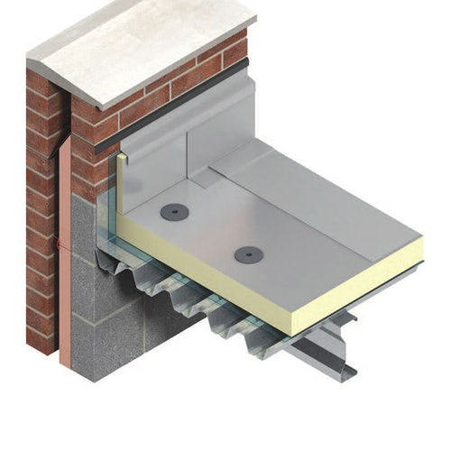 TR26 Flat Roof Insulation by Kingspan Thermaroof 50mm - 17.28m2 Pack