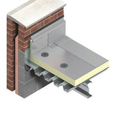TR26 Flat Roof Insulation by Kingspan Thermaroof 100mm - 8.64m2 Pack