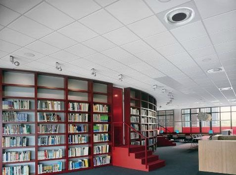 Armstrong Dune Evo Ceiling Tiles 600mm X 600mm 5 76m2