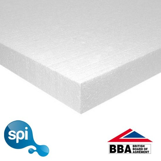 Stylite Plustherm EPS 100 Polystyrene Insulation 100mm - 8.64m2 Pack