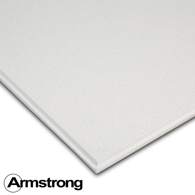 Armstrong Dune Supreme Tegular Ceiling Tiles 600mm X 600mm 5 76m2 Insulation Superstore
