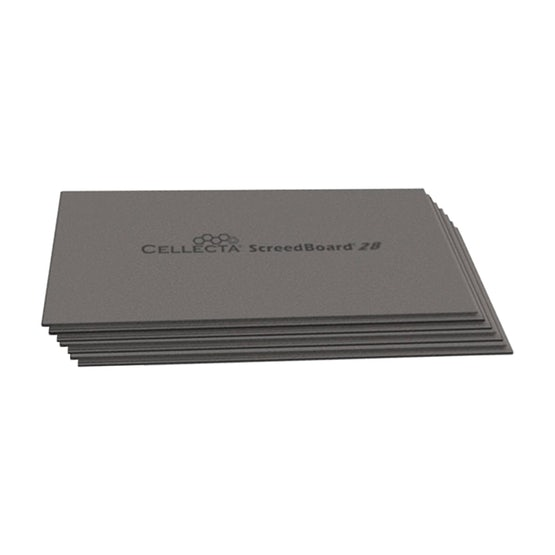 Video of Cellecta ScreedBoard 28 Acoustic Insulation Board 1.2m x 600mm x 28mm - 43.2m2