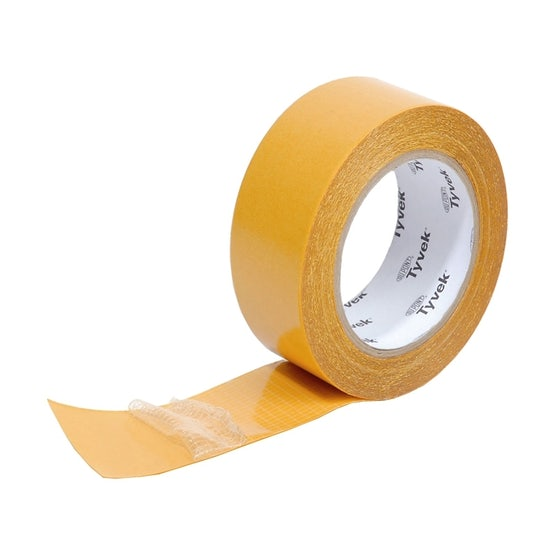 Tyvek Acrylic Double Sided Tape from DuPont - 50mm x 25m Roll