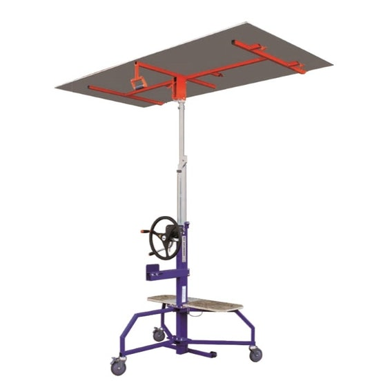 Video of Edma EDMAPLAC360 Plasterboard and Insulation Panel Lifter - 3.6m