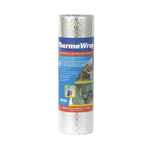 General Purpose Insulation ThermaWrap Single by YBS - 4.5m2 Roll
