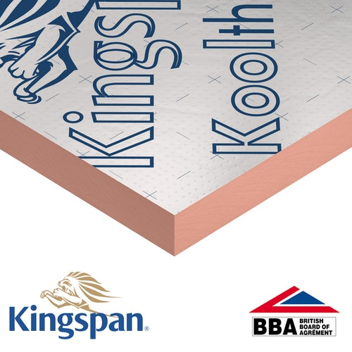 Kingspan Kooltherm K108 Cavity Board 1200mm x 450mm x 100mm - 2.7m2 (5 sheets)