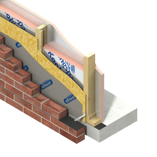 Framing Board Insulation K112 Kooltherm by Kingspan 100mm - 8.64m2