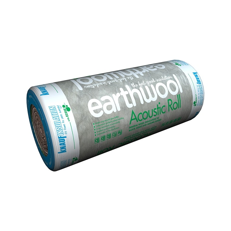 Video of Knauf Acoustic Sound Insulation Roll - 600mm Wide Earthwool 100mm - 11m2 Pack