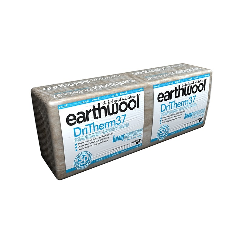 Video of DriTherm Cavity Slab 37 from Knauf Earthwool 75mm - 4.37m2 Pack