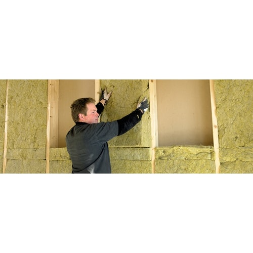 Rockwool RWA45 Acoustic Insulation Slab in 75mm - 4.32m2 Pack