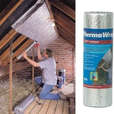 Loft Wrap Insulation ThermaWrap by YBS 400mm x 5m - 2m2 Roll