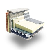 Xtratherm TR/MG Tapered Roof Board 110-130mm - 5.76m2