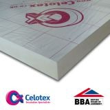 Celotex Cavity Wall Insulation Board CW4075 1.2m x 450mm x 75mm - 4.32m2 Pack