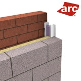 ARC Contract-Closer 75mm Thermal Cavity Closer 2.4m Length - Pack of 8