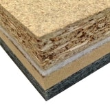 DECKfon Quattro 45 Acoustic Insulation Board 2.4m x 600mm x 45mm