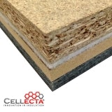 DECKfon Quattro 39 Acoustic Overlay Insulation Board 2.4m x 600mm x 39mm