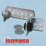 Isomass Isocheck 70mm Acoustic Ceiling Hangers Without Anchors - Box of 100