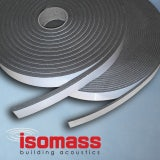 Isomass Isocheck Acoustic Wall Isolation Strip - 100mm x 5mm x 25m