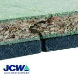 JCW Acoustic Deck 28 for Timber Floors - 2.4m x 600mm x 28mm Board