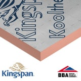 Kingspan Kooltherm K15 Rainscreen board 2400mm x 1200mm x 80mm - 11.52m2 (4 sheets)