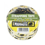 Strapping Filament Tape by Mammoth in Clear 50mm x 25m - Pack of 24