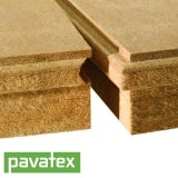 Pavatherm-Plus Woodfibre Sarking Board 60mm by Pavatex - 0.99m2 Board