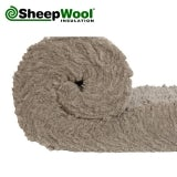Premium SheepWool Insulation 100pc Natural 150mm x 380mm - 3.42m2 Pack