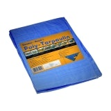 Tarpaulin General Purpose Waterproof Temporary Covering - 3.6m x 5.4m