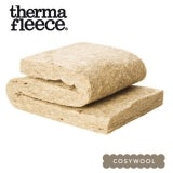 Thermafleece CosyWool Slabs Sheeps Wool 75mm x 590mm - 12.74m2 Pack