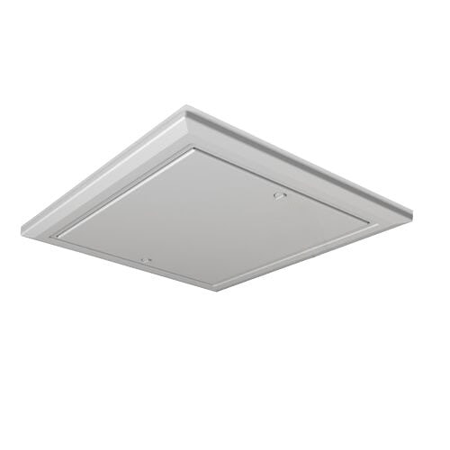 Timloc White Plastic Drop-In 0.82 U-Value Insulated Loft Door - 562 x 665mm