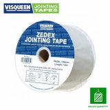 Visqueen Zedex DPC Jointing Tape 100mm x 15m Pallet of 144 Rolls