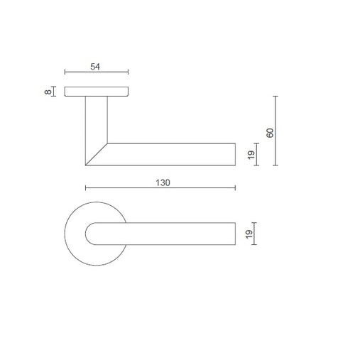 consort-lever-handle-8mm-sprung-dimensions - CH499