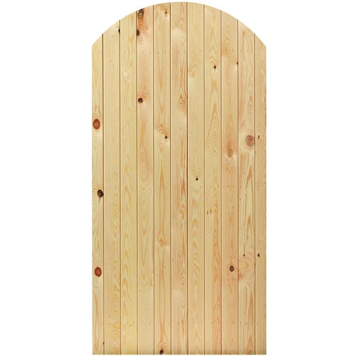 JB Kind External Softwood Arched Top Boarded Panel Door 915mm